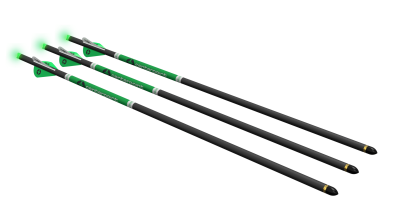 CP400™ Select Carbon Arrows - 3pk with Lighted Nocks